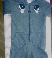 Pidžame 3 kom. za djevojčicu 2-3 god.