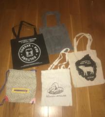 PLATNENE TORBE *tote bags*