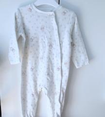 HM set - pidžama, bodić, kapica [nenošeno]