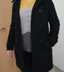 Crni kaput vel S S/M