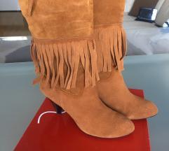 Camel kožne čizme 38