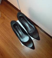 RESERVED crne cipele na blok petu