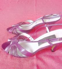 Ljubičaste sandale