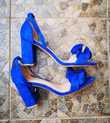 Plave sandale s volanima