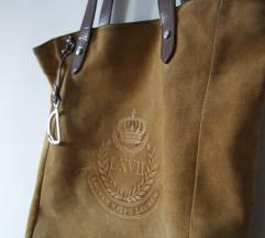 Ralph Lauren Putnam kožna torba