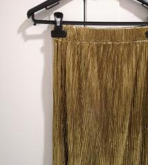 Zlatna suknja midi M
