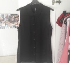 Prozirkasta crna košulja