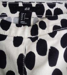H&M hlace/cow print