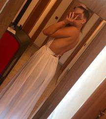 Bijela haljina s prorezima