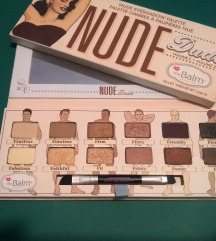 The Balm nude dude vol. 2 paleta + kist