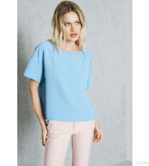 mango plava bluza