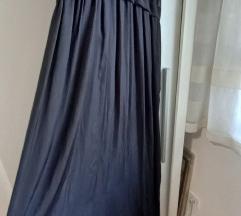 Crna slip Zara haljina M - nova %