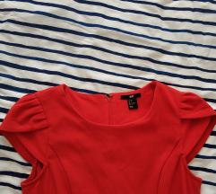 HM crvena haljina