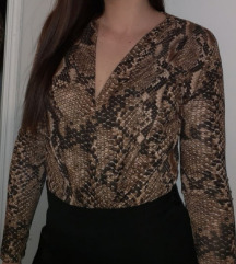 Zara snakeprint body