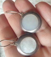 nausnice srebro 925 i sedef