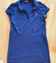 US Polo tamno plava haljina, vel.M