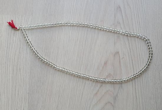 Ogrlica sa staklenim perlama