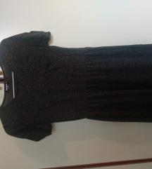 Sivi mini haljinica