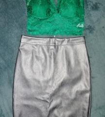 Kozna pencil suknja