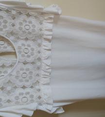 Romantična majica s čipkom