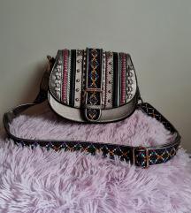 Rezz/Nova brončano šarena torbica