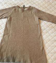 Zara pletena haljina 116