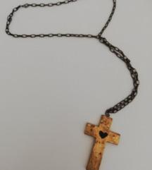 Veliki lančić, križ