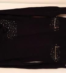 Crna tunika S veličina