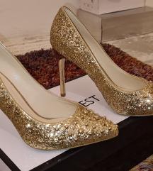 Elegantne zlatne salonke