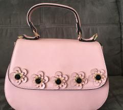 Svjetlo roza torba