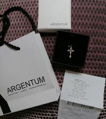 ARGENTUM srebrni privjesak (uklj.pt.)