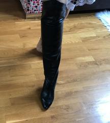 Overknee visoke kožne čizme