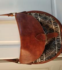 Kožno-platnena torba