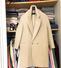 MASSIMO DUTTI vuneni kaput- kratko nosen!  %%%