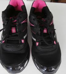 Crne-pinki tenisice za fitness, trčanje 39