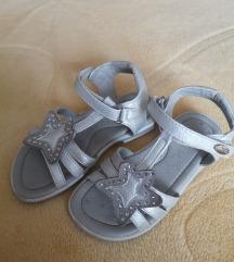Sandale srebrne 27