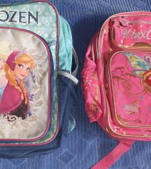 Dva ruksaka Frozen i Winx