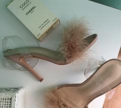 Predivne pernate sandalice