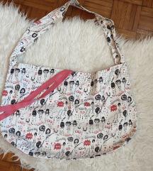 Zara platnena torba