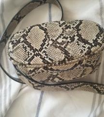 Stradivarius zmijska torbica