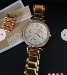 Michael kors rose gold sat