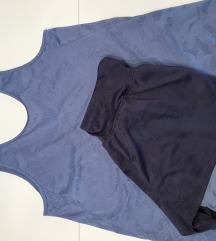 Sportske hlačice + majica + sportski top