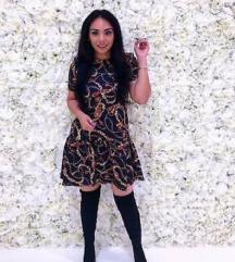 Nova Zara print haljina s 36