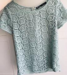 Zara čipkasta majica