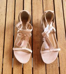 NOVE puder roze sandale