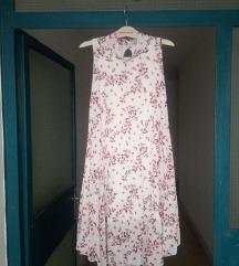 plisirana ljetna haljina