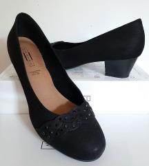 Fine crne cipele na manju petu