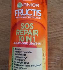 Garnier fructis SOS repair leave-in krema