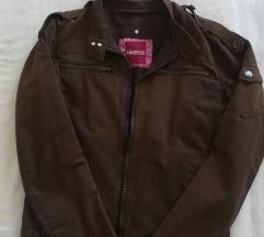 Smeđa ženska jakna vel. 38