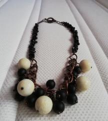 Handmade unikatna RUSTIKALNA ogrlica